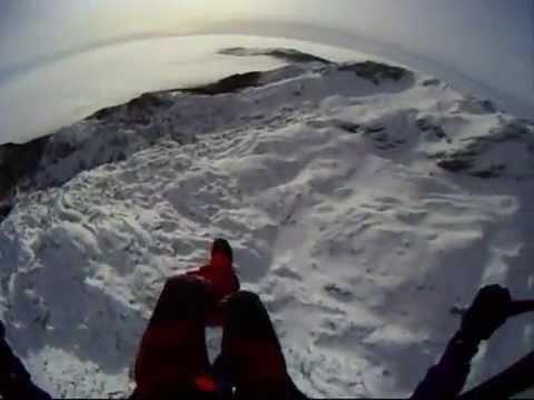 Polet z Velikega vrha