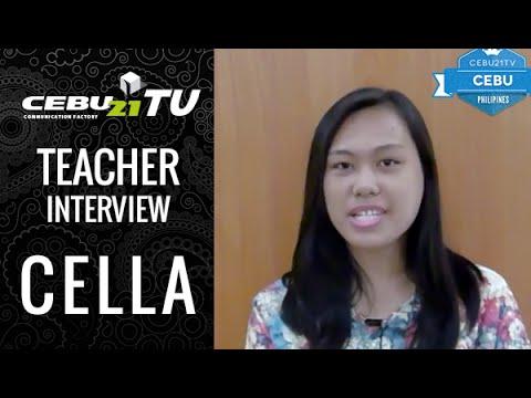 セブ島 CELLA校 講師インタビュー : フィリピン留学CEBU21