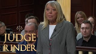 Woman Sues Pet Goat Owner For Damages To Her Pub | Judge Rinder