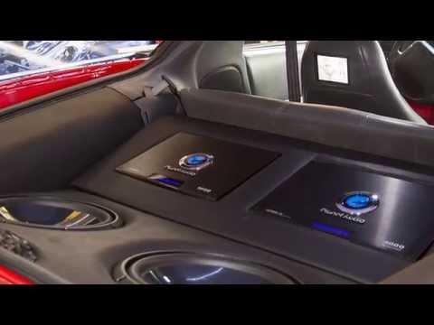Camaro Instalación de equipo de audio