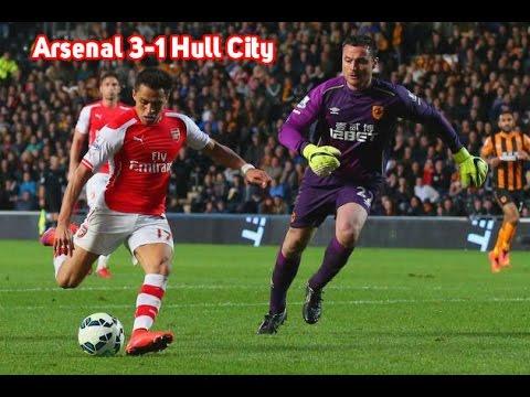 Arsenal vs Hull City 3-1 all Goals and Highlights 04/05/2015
