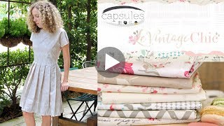 Le Vintage Chic Fabrics by AGF Studio