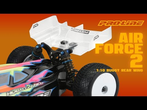 Pro-Line Air Force 2 Lightweight 1:10 Buggy Rear Wing