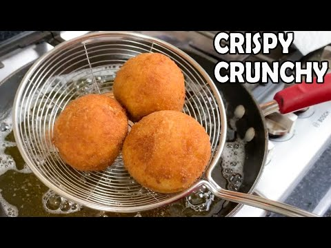 Crispy Chicken & Egg Bread Balls | Iftar Party | Lunch Box | Snacks by (HUMA IN THE KITCHEN)