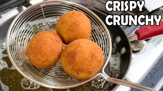 Crispy Chicken & Egg Bread Balls   Iftar Party   Lunch Box   Snacks by (HUMA IN THE KITCHEN)