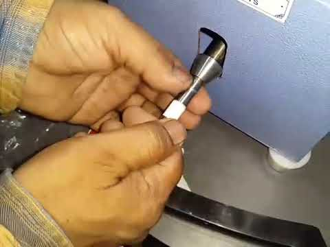 Sharp Edge Tester