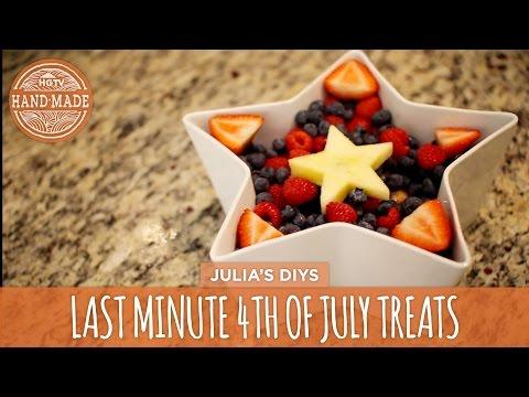 Video Easy & Healthy Last Minute 4th of July Treats - HGTV Handmade