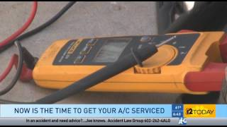 12 News with Mike Donley on Servicing Your AC