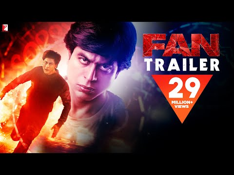 "Fan Trailer: Shah Rukh Khan set to steal hearts with action thriller ""Fan"""