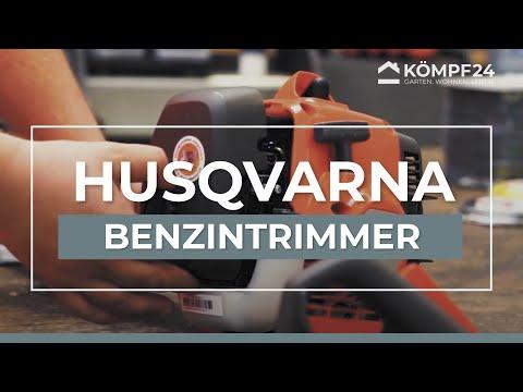 Husqvarna Benzintrimmer 122C: Kaltstart, Warmstart und Fadenwechsel vom Profi erklärt!