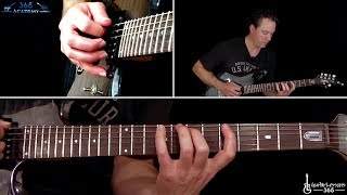 The Call of Ktulu Guitar Solo Lesson - Metallica