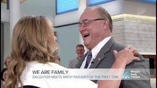 Father and Daughter reunited on The Today Show thanks to MyHeritage DNA