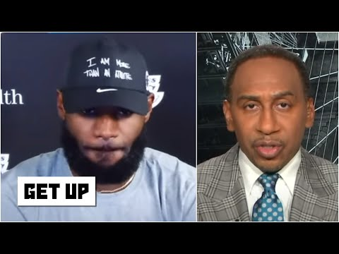 Stephen A. reacts to LeBron's 'incredibly powerful' comments after Lakers vs. Jazz | Get Up