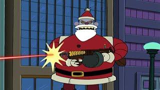 Злой Санта-Клаус 💙 Футурама HD #23 💙 Xmas Story