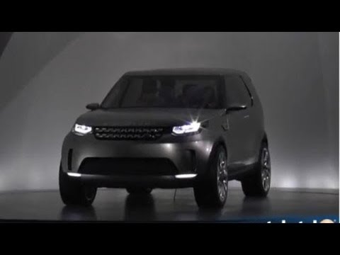 Land Rover Discovery Vision Concept @ New York Auto Show
