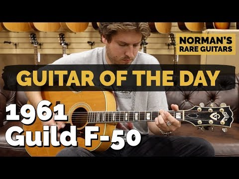 Guitar of the Day: 1961 Guild F-50 | Norman's Rare Guitars