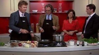 André Rieu - cooking on the today show