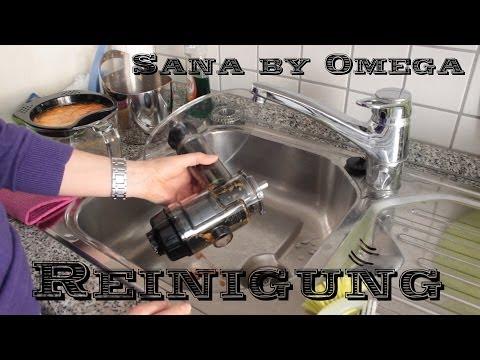 Reinigung Entsafter - Sana by Omega - einfach & schnell