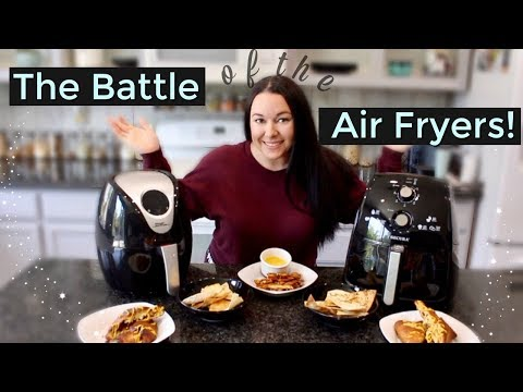The Battle of The Air Fryers!   Secura vs. Power XL