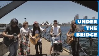 Gambar cover Grouplove - 'Tongue Tied' - Under the Bridge Session