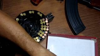 How To Load An AK47 Drum Magazine