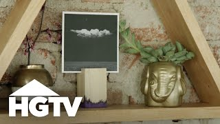 DIY Photo Blocks - HGTV