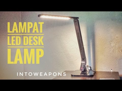 Best Dimmable LED Desk Lamp – Lampat Review