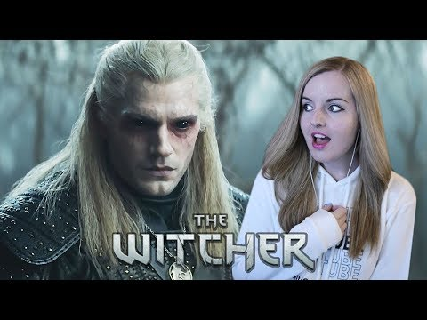 He's So Beautiful!! - The Witcher | Official Teaser REACTION