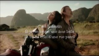 Anguun et Florent Pagny Lyrics - Nos vies parallèles