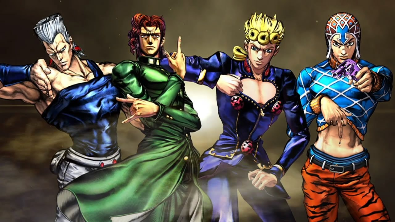 The New Jojo's Bizarre Adventure Fighting Game Looks As Mental As Ever