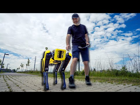 Dope Tech: Boston Dynamics Robot Dog!