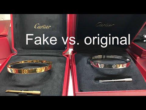 Folge 9: Fake CARTIER Love ( bracelet) Armreif Love Ring. Fälschung erkennen! FAKE, Replica....