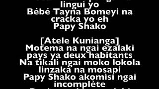 Fally Ipupa Humanisme Lyrics