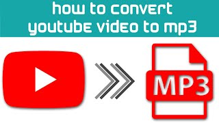 How To Convert Save A Youtube  To Mp3 Or