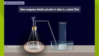 Preparation Of Oxygen Using Hydrogen Peroxide