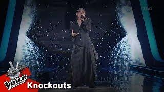 Άννα Μανωλαράκη - Frozen | 1o Knockout | The Voice of Greece