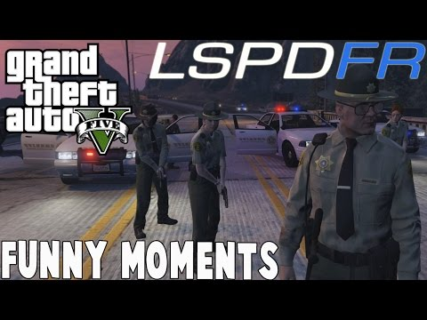 GTA 5 LSPDFR POLICE MOD FUNNY MOMENTS! GTA V PC Gameplay
