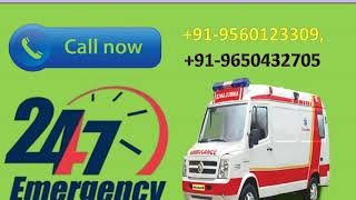 Hire High Class Road Ambulance Service in Kankarbagh and Danapur