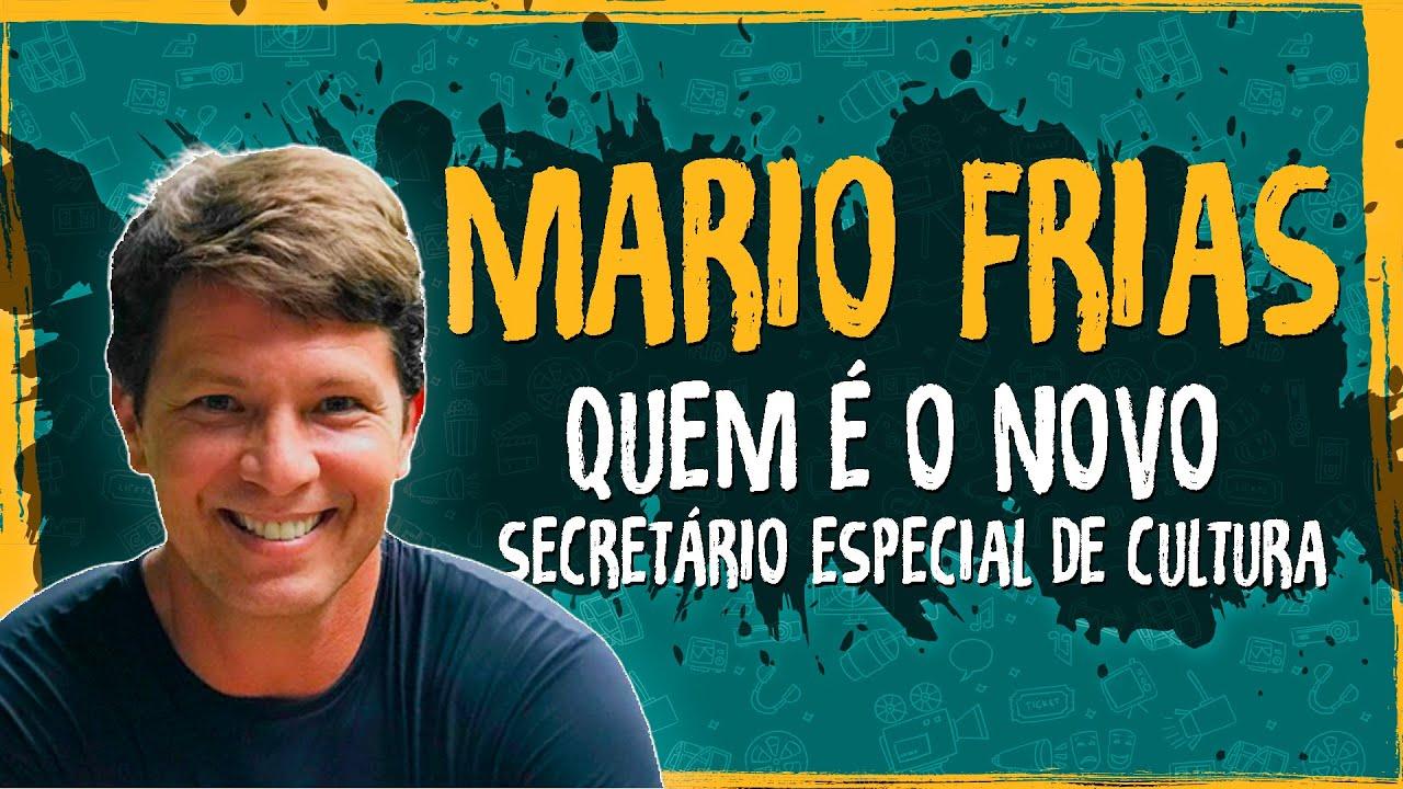 Mario Frias – Quem é o Novo Secretário Especial de Cultura