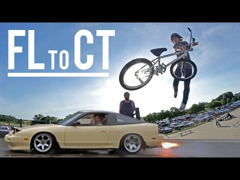 Webisode 41: The Cross Country BMX Trip (FL to CT)