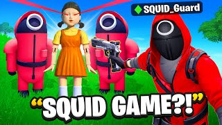Trolling With SQUID GAME in Fortnite