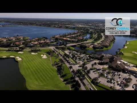 The Quarry Naples Florida Golf & Country Club Real Estate Homes & Condos 360 Aerial view