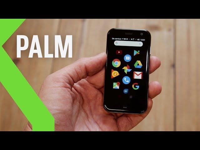 Palm, análisis: SMARTPHONE con el TAMAÑO DE TARJETA DE CRÉDITO