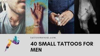Cool Small Tattoos For Guys - 40 Beautiful Tiny Tattoo Ideas