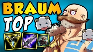 Braum TOP with Press the Attack and Trinity Force | Adventures of SpicyNoodle264 [Episode 11]