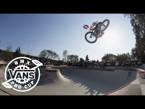 2017 Vans BMX Pro Cup Series: Sergio Layos - 3rd Place Run in Mexico   BMX Pro Cup   VANS