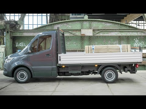 Mercedes Sprinter 316 CDI Pickup - Maximum Modularity for All Customer Wishes