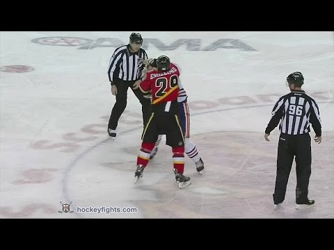 Luke Gazdic vs Deryk Engelland