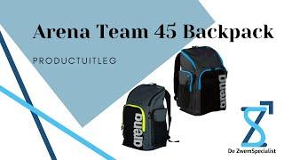 Arena Team 45 Backpack | De ZwemSpecialist