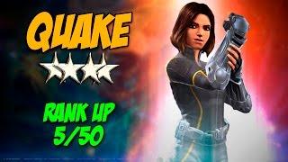 Quake 4 Estrellas Rank Up 5/50 - Marvel Contest of Champions